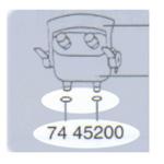 ダブルタップユニット 7445108