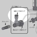 CA-2eco用 循環パイプ Oリング