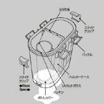 UV-13AX専用ボトムカバー