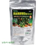 ビバリア 爬虫類野菜6種ブレンド ドライタイプ